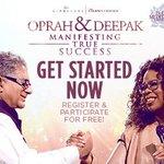 RT @Intentdotcom: It's back! Register for the next #meditation experience w/ @DeepakChopra & @Oprah for free! http://t.co/Mu63mwZSXQ