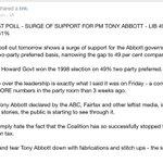 Govt MP accuses Australias leftist media of waging a jihad against PM Abbott. http://t.co/Sj9jr71qBP