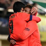 .@NeymarJr and @LuisSuarez9 jubilant for first berth in Spanish Cup final. http://t.co/3PRkf0gGTH http://t.co/vuKLhFhHSw