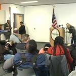 Soon: City of #Ferguson Police Chief & Mayor to speak on DOJ report – Livestream via @ksdknews http://t.co/3FXguZepcN http://t.co/WHAE10nI5v