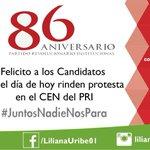 Mucho éxito candidatos! #JuntosNadieNosPara #OrgulloPRI http://t.co/5qke9fsTDR