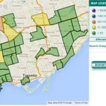 Current power outages in the city. 3,100 customers still without power. #Toronto #darkTO http://t.co/0uvffna4yX