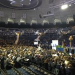 Crowds are gathering at the Purcell Pavilion for Father Hesburghs Memorial Tribute. WNDU will have it live at 7:30. http://t.co/UpW2PaTrs8