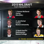 Top 5 seems important for Leafs.  RT @NHLonNBCSports 2015 @NHL Draft Top Prospects http://t.co/GbeTH3A7k1