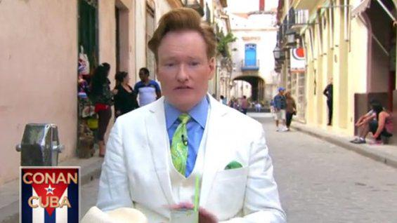Conan O'Brien Meets Cuba in Cold Open (Video)