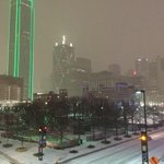 Its Snowing in Dallas http://t.co/nja6iFFy7q