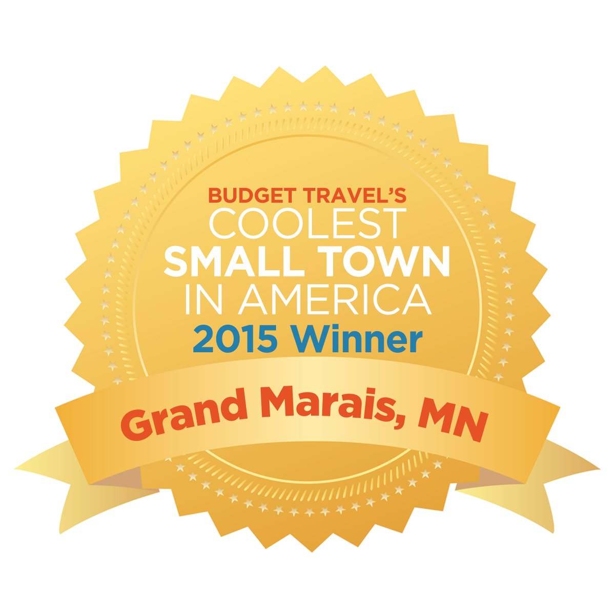 Congratulations! Grand Marais, MN, is America's Coolest Small Town 2015! @exploreminn  #ACST2015 http://t.co/pAV5e40Cih
