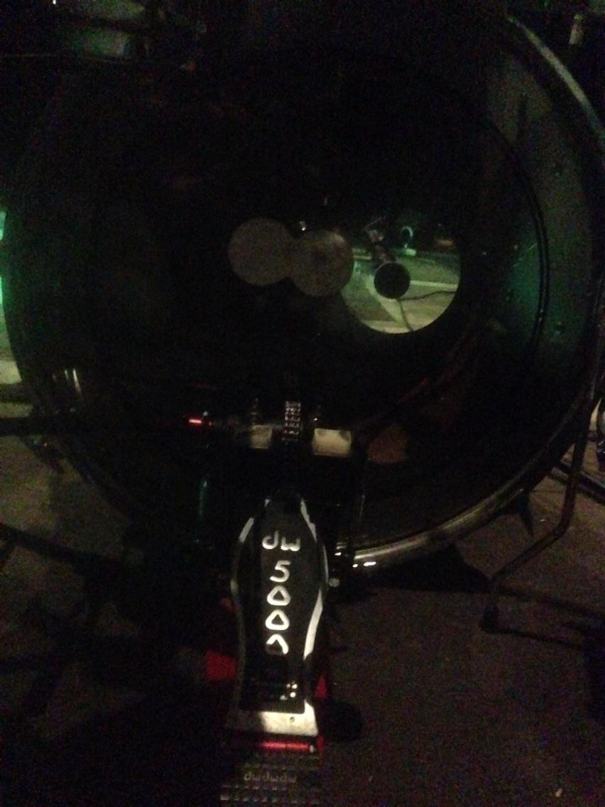 Wednesday night bass drum. Rehearsing with the Brian Buckley Band! :-) http://t.co/CPSur6vrmp