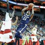 Demetrius Jackson drops 21 Pts as No. 12 Notre Dame cruises past No. 16 Louisville, 71-59. http://t.co/pRvqOsmkHB