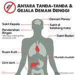 Denggi membunuh. Dapatkan rawatan segera di klinik atau hospital sekiranya terdapat gejala sebegini. http://t.co/2s4v2D5fAW