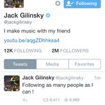 "@jackgilinsky it would be cool to have it saying ""@jackgilinsky follow you"" ugh goals http://t.co/58o9OChC4l"