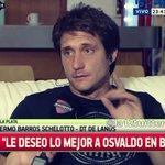 """#Guillermo B.S """"Osvaldo jugó en la Juventus, donde no juega cualquiera, eso te marca. Le deseo lo MEJOR"""" @sportiaok http://t.co/6JvtqihLg4"""