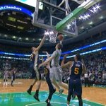 Tyler Zeller gets the lay-in FOR THE WIN! Celtics beat Jazz 85-84! http://t.co/SY32MPSUln