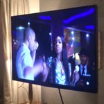 Delphine all up in the screen! #EmpireFox thank you @leedanielsent @jussiesmollet @yazzthegreatest @TherealTaraji http://t.co/eaxWXtB9yW
