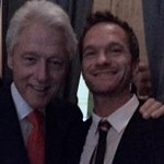 Surreal. Just had the honor of introducing @BillClinton at an event for the amazing Clinton Foundation (@ClintonFdn).