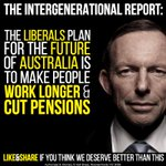 Today's Intergenerational Report is a disgraceful political document entirely designed to save @TonyAbbottMHR http://t.co/nvawzJV4Rt