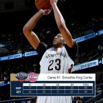 What a game! #Pelicans grind out a 88-85 win over DET. @AntDavis23 stuffing the stat sheet w/ 39p/13r/8b #TakeFlight http://t.co/fTbbLHo5Pc