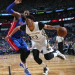 The Brow is BACK. Anthony Davis scores 39 points with 13 rebounds and 8 (!!) blocks in 88-85 Pelicans win. http://t.co/BH1GM29een
