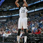 Davis (39-13-8 blks) made his presence felt in a BIG way in his return as @PelicansNBA beat @DetroitPistons 88-85.