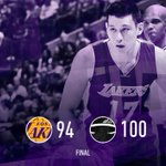 Seven Lakers finish in double figures, but they still fall in Miami.