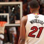 Hassan Whiteside scores 18 pts, grabs 25 rebs (!!!) and blocks 4 shots in Miamis 100-94 win over the Lakers http://t.co/5rzA867OgH