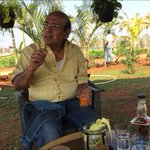 A meaningful day with Buddadeb Dasgupta in our farm.. Sharing his passion of cinema...life.. Happy with this journey. http://t.co/EupQc4shhC