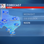 Here it comes! Big cold front will pounce on the valley overnight. Winter returns! #RGV http://t.co/YJaAMZXiEj