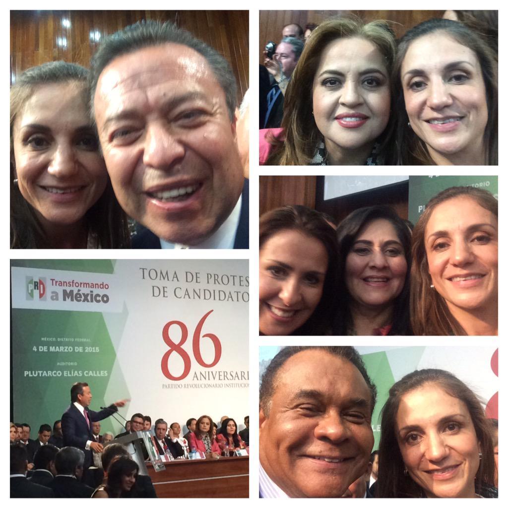 Un gran momento para el priísmo! Un honor ser parte del CPN @CCQ_PRI @AnaLiliaHerrera @DivaGastelum @Tobetogonzalez http://t.co/sBQNmjIG5l