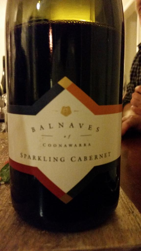Been a while since I've enjoyed any Sparkling red here in the US!  @BalnavesWine @HWB_USA http://t.co/3Uzz0Axiqg