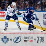 Its a @Scotiabank Game Day! The #Leafs take on the Lightning tonight. #TMLtalk PREVIEW → http://t.co/aE1S73D1ao http://t.co/6vrzIXhnyV