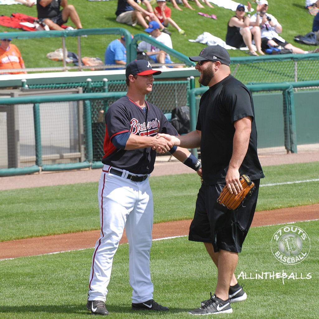 Prospect Catcher Braves Prospect Catcher