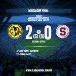 Final de partido, nuestro equipo derrota por global de 5-0 a @SaprissaOficial y vuela a semifinal en @TheChampions http://t.co/ADUIMfLwOi