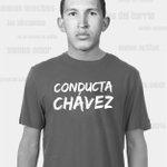 Como dicen l@s panitas de @hhrlara: una sola cara, una sola conducta, conducta Chávez, somos l@s mism@s. http://t.co/O9oGb7CALT