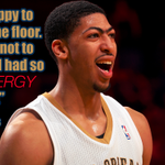 Anthony Davis on his 1st game back for Pelicans. http://t.co/1mSeXRMWdo