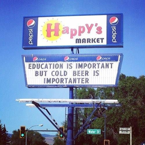 """""""Remember what's importent!""""  RT @winewankers  #beer #wine http://t.co/zz4ey40jlF"""