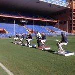 Lincontro tra i giocatori del #genoa e le scuole #GenoaValuesCup @pianetagenoa @Radio19family @Stelle_Sport http://t.co/8ZVuYsuqzz