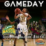 Its gameday! If youre in the Richmond area come on out to the Coliseum http://t.co/M2mBAnk1os #WeAreMason http://t.co/RPuWw4c4er