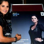 RT @FayaqNaser9: Tennis Star @MirzaSania signs a poster during a press conference organized by WWF in Hyderabad. @Ink2Change http://t.co/1T…