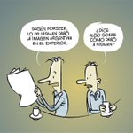 La viñeta de hoy: Forster, Nisman y la imagen argentina - http://t.co/fBLRcWpJzj Buenos días. http://t.co/NVF2q3MKhb