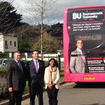 Todays launch of #BUProud in the Community! @robafcb @bournemouthuni #afcb #spotted http://t.co/ODHlfOgqBX
