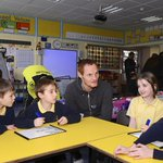 COMMUNITY: @ShaunMac20 visits Ferndown pupils on @C4L_UKs Connect with Care project: http://t.co/2UiGzsoqNa #afcb http://t.co/DRNxQJK6hM