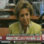 #ALERTA: Prisión domiciliaria para María Julia Alsogaray. Si se ausenta de su casa, irá a una cárcel común. http://t.co/oW3C4sLCPe