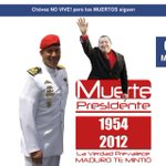 RT @AnthonyDaquin: #CuentoChino CHAVEZ NO VIIVE Y NO VOLVERA - LA MENTIRA SIGUE #5M http://t.co/muP9w9z1US http://t.co/hkGPjmljlw