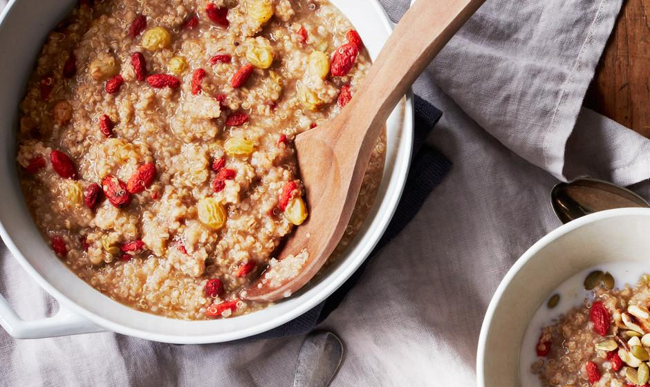 Put quinoa in your oats and you'll never go without 'em again http://t.co/Yq4rtckEb6