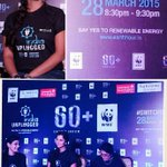 At the press conference of #WWF #earthhour as Telangana's brand ambassador pledge to #switchoff lights on 28th march http://t.co/q7kG5atONT