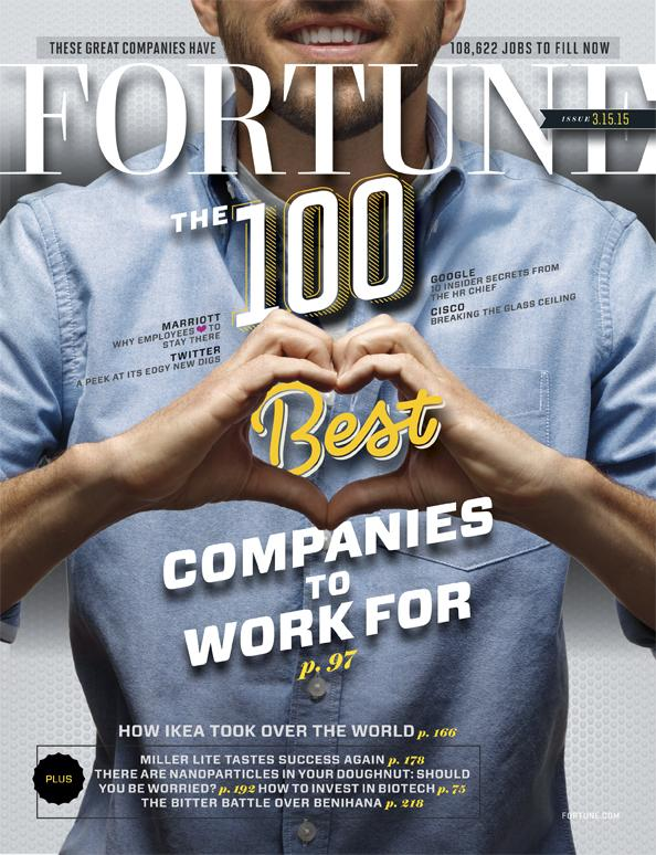 So proud to rank on the @FortuneMagazine #100BestCos list for 18 years! http://t.co/xAsJTv4E54 http://t.co/gEkRNEONRC