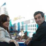 Hoy 17hs @CFKArgentina y @RandazzoF reciben en el Puerto de Buenos Aires la primera formación 0km para el #TrenRoca. http://t.co/A7Dt5dW8Ql