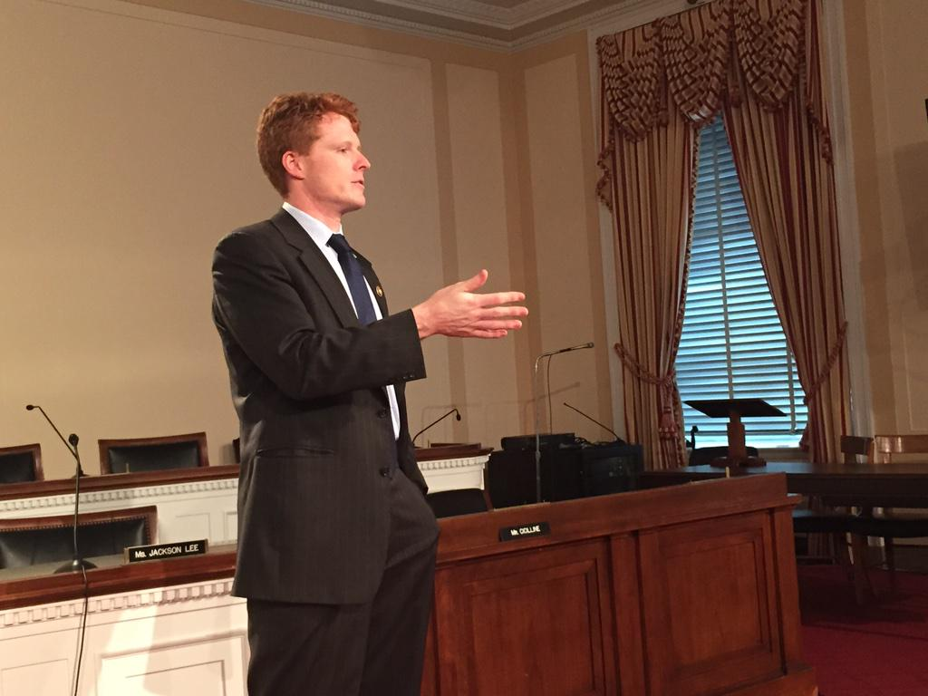 """Ask members of Congress to visit @PeaceCorps vols when they go on official trips overseas"" -- @RepJoeKennedy http://t.co/lmXRlruj2B"