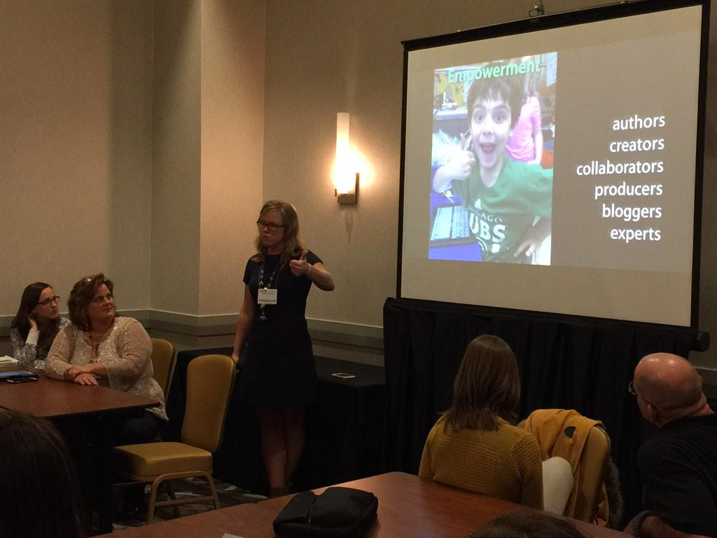 If we can teach kids to think, we have the opportunity to transform education @KristinZiemke #ncties15 #adedu http://t.co/pwDFv2NpI3