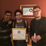Congrats to the winners of our first meetup: @batte_re! #PHCH http://t.co/dMfOd1DMJc